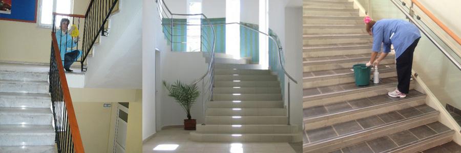 Malatya Apartman Temizliği - Merdiven Temizliği